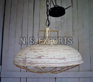 W Cage Dome Pendant Lamp