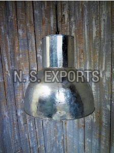 White Zinc Hanging Lamp