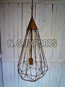 Wire Mesh Hanging Lamp