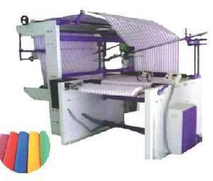 Fabric Double Folding Lapping Machine