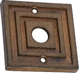 Antique Cast Iron Bell Push