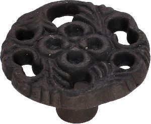 back powder coated cast iron cabinet knobs