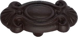 Brown cast iron cabinet knobs