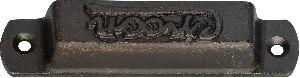Cast iron drawer pulls
