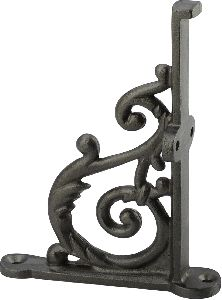 distressed cast iron self bracket