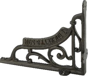 Large vintage style Duckett design  cast iron self bracket