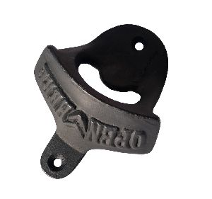 Rustic cast iron bottle opener