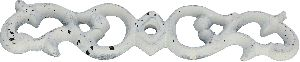 White cast iron knobs base