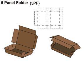 Five Panel Folder Box