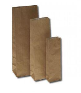 Block Bottom Kraft Paper Bag
