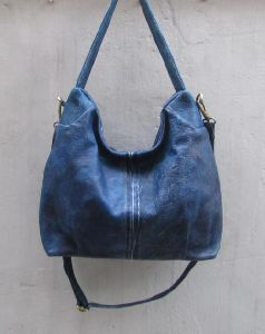 Leather Slouchy Bag