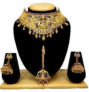 Choker Bridal Necklace Set