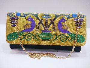 Semi Paithani Chain Sling