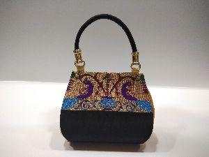 Semi Paithani Single Handle Handbag