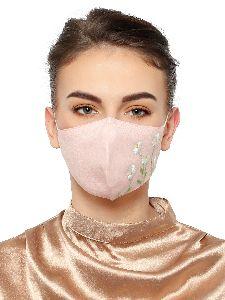 Ladies Pink Face Mask