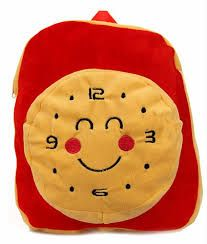 Soft Toy Clock Bag