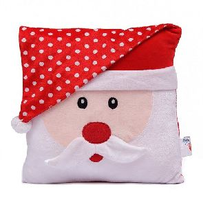 Soft Toy Trippy Santa Cushion