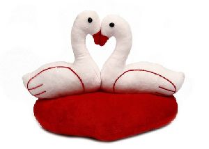 Swan Couple Soft Toy