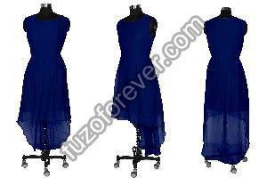 Burger Navy Blue Dresses