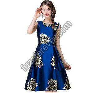 Eva Navy blue Dresses