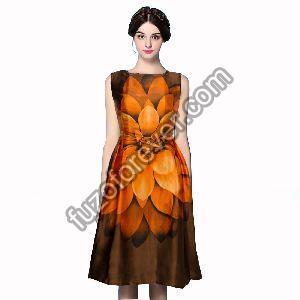 Liza Orange Dresses