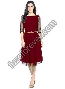 Maroon Moonlight Dresses