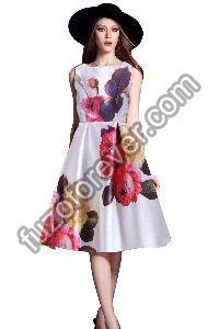 Ruhi White Dresses