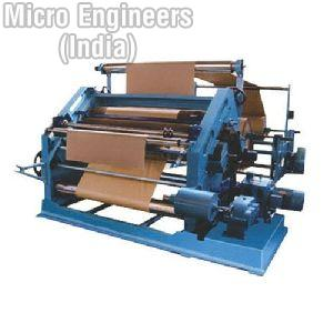 Bearing Mounted Oblique Type Paper Corrugating Machine