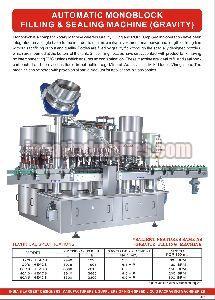 Gravity Monoblock Sealing Machine
