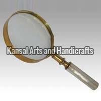 Brass Magnifying Lens