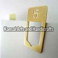 Brass Paper Clips