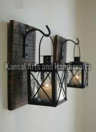 Iron Hanging Candle Holder