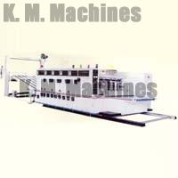 High Speed Water Based Ink Printing Slotting and Die Cutting Machine