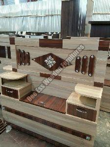 Double bed partical Board