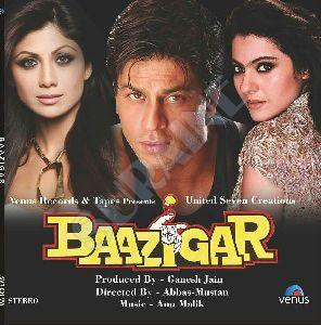 Baazigar Movie Vinyl Record Disc