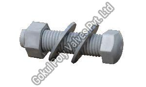 Polypropylene Nut and Bolt with Double Washer