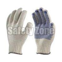 Hand Gloves Polka Dotted