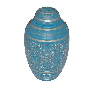 Pewter Large Urn for Human Ashes