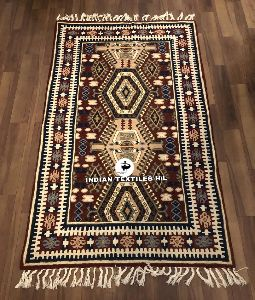 Wool Chain Stitched Rugs