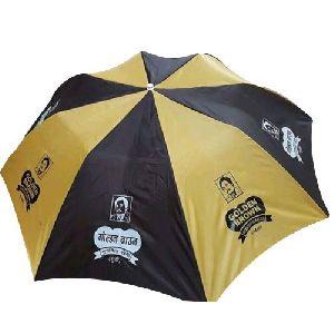 Yellow and Black Umbrella