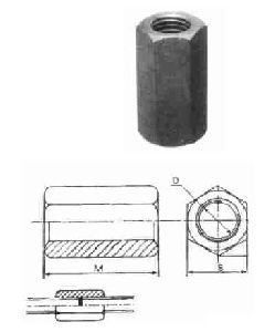 Clamping Extension Nuts