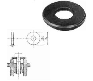 Clamping Plain Washer