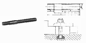 Clamping Stud With T Nut