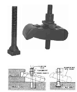 Mould Clamp With Clamping Stud & Flanged Nut