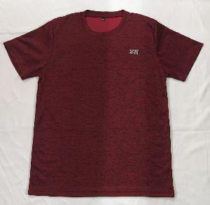 Mens Sports Round Neck T-Shirts