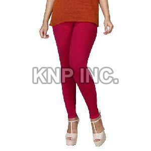 Deep Rani Cotton Lycra Kali Ankle Length Leggings