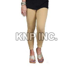 Deep Skin Cotton Lycra Kali Ankle Length Leggings