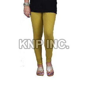 Mehendi Cotton Lycra Churidar Leggings