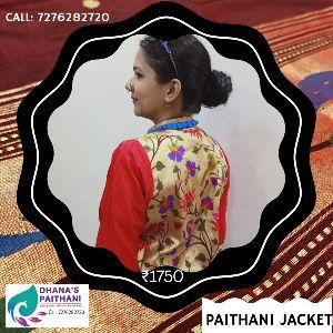 Ladies Paithani Jackets