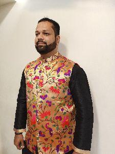 Paithani Mens Jacket
